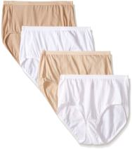 Hanes Ultimate Women's 4-Pack Brief Panties