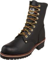 "Georgia Boot Men's Logger 8"" Black Non Steel-Toe Work Boot"