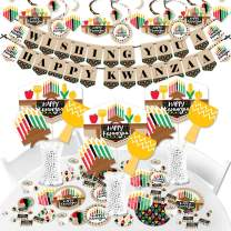 Big Dot of Happiness Happy Kwanzaa - African Heritage Holiday Party Supplies - Banner Decoration Kit - Fundle Bundle
