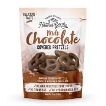 Nature's Garden Milk Chocolate Pretzels - 7oz
