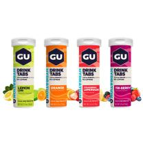GU Energy Hydration Electrolyte Drink Tablets, 4-Count (48 Servings), Assorted Flavors