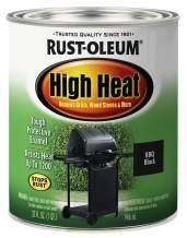 Heat Protective Enamel, Quart 32-Ounce, Bar-B-Que Black-New