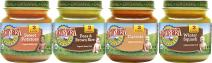 Earth's Best Organic Stage 2 Baby Food, Vegetable Variety Pack, 4 oz. Jar (12 Count)