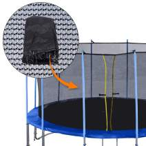 Exacme Replacement Trampoline Enclousre Netting for Inner Trampoline Safety Net Without Poles