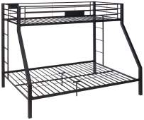 ACME Limbra Twin XL/Queen Bunk Bed - 38000 - Sandy Black