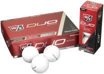 Wilson Staff Duo Spin Golf Balls (12-Pack), White