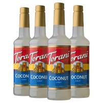 Torani Syrup, Coconut, 25.4 Ounce (Pack of 4)