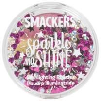 Lip Smacker Sparkle & Shine Highlighter Powder, Rainbow Glow, 0.14 Ounce, Blush, Eyeshadow, Body Glow