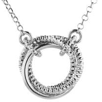LeoDaniels 925 Sterling Silver Infinity Pendant