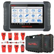 Autel MaxiPRO MP808K Diagnostic Scan Tool, Bi-Directional Control, Active Test, Key Fob Programming, SAS, EPB, BMS, DPF, Oil, TPMS Reset, ABS Auto Bleeding, Upgraded Version of DS808, MK808, MP808