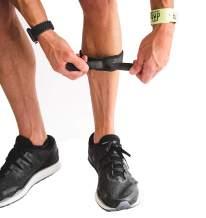 CROSSTRAP Shin Splint | Adjustable Neoprene Shin Splint & Leg Compression Support Strap | for Strains, Injuries, Pain, Pulled Muscles, Torn Calf | for Men & Women