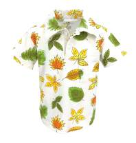 Unique Baby Boys Fall Leaf Polo Shirt