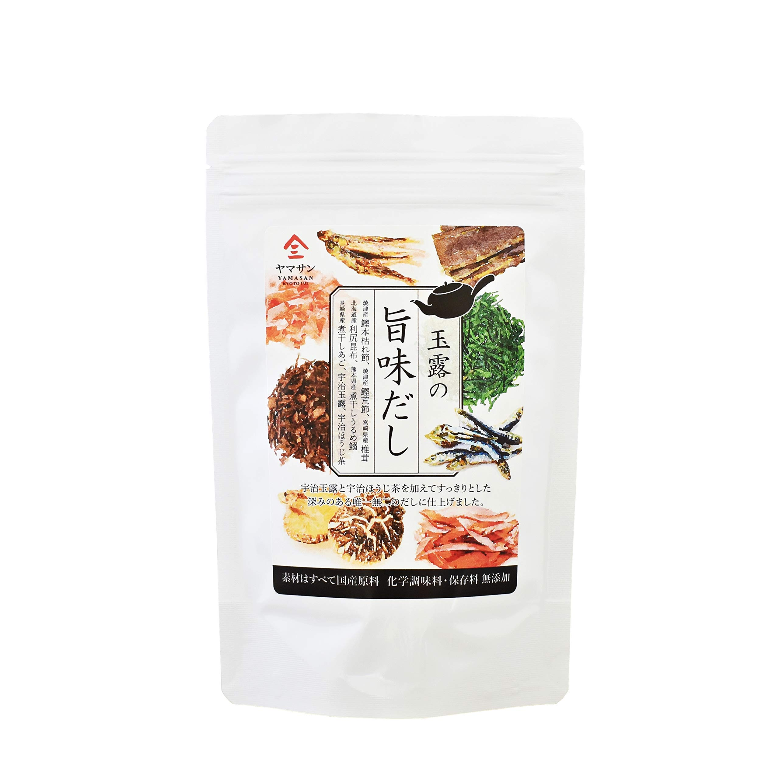 Umami dashi Soup Stock (Additive-free soup) Use 7 carefully selected ingredients from Japan [chaganju] 8g×15pacs
