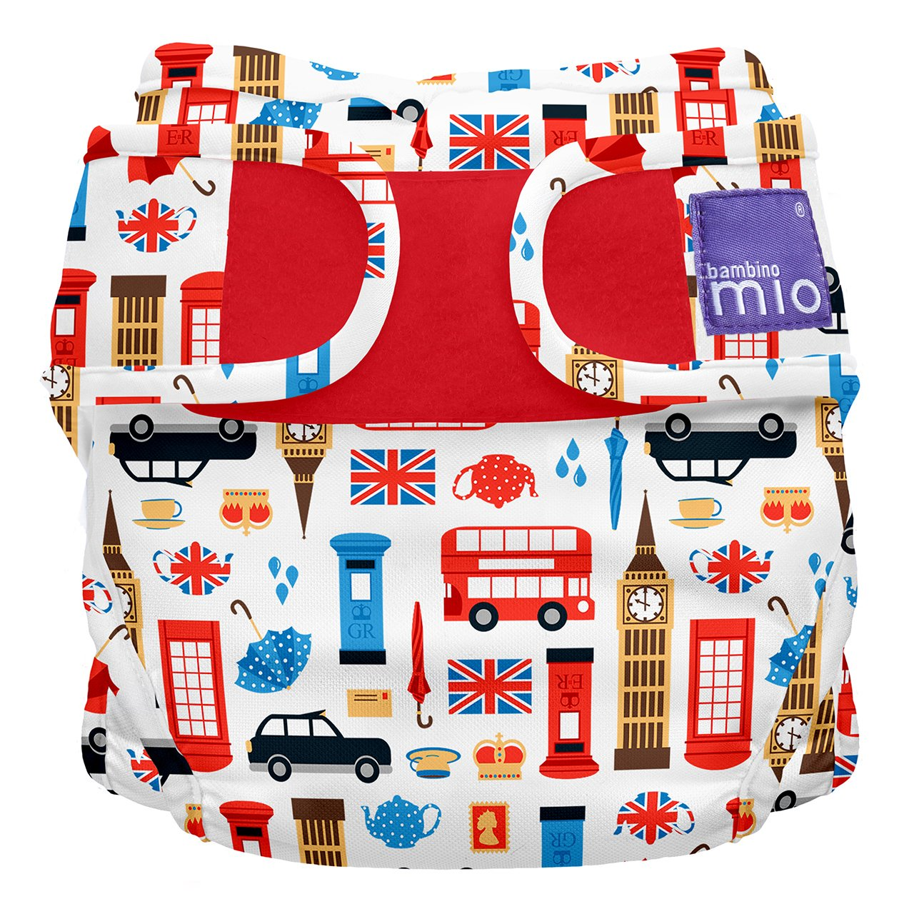 Bambino Mio Miosoft Two-Piece Diaper, Great Britain, Size 2