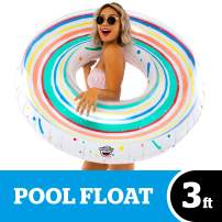 BigMouth Inc. Jawbreaker Candy Styled Pool Float – Over 3 Foot Pool Float, Durable Inflatable Vinyl Summer Pool or Beach Toy, Makes a Great Gift Idea