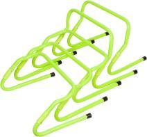 Trademark Innovations Set of 5 Adjustable Speed Training Hurdles