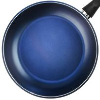 """TECHEF - Color Pan 12"""" Frying Pan, Coated with New Safe Teflon Select - Color Collection/Non-Stick Coating (PFOA Free), Made in Korea, Lavender Blue"""