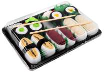 Rainbow Socks - Men's Women's - Sushi Socks Box Tamago Butterfish Tuna Maki - 5 Pairs