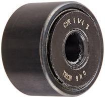 "McGill CYR1 1/4S Cam Yoke Roller, Sealed, Inch, Steel, 1-1/4"" Roller Diameter, 3/4"" Roller Width, 3/8"" Inner Diameter, 13/16"" Overall Width, 0.98"" Endplate Diameter"
