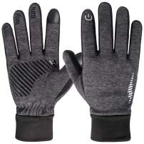 HiCool Winter Gloves,Touch Screen Running Thermal Driving Warm Outdoor Sports Head Gloves for Men Women