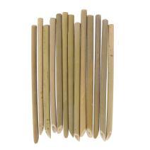 "BambooMN Brand - 7"" Organic Reusable Bamboo Drinking Straws - 100 Pieces"