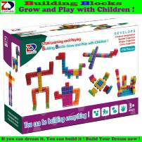 ZP ZaoProteks Rich and Colorful Building Blocks, STEM Toys ,Educational Building Toys ,Grow and Play with Children (Block B)