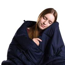 """Class Cotton Weighted Blanket for Adult and Kids (48""""x72"""" 