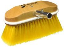 "Shurhold 308 8"" Window and Hull Brush with Soft Yellow Polystyrene Bristles"