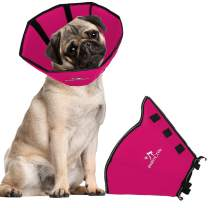 BABYLTRL Dog Cone Collar for After Surgery, Soft Pet Recovery Collar for Dogs and Cats, Adjustable Cone Collar Protective Collar for Small Medium Large Dogs Wound Healing
