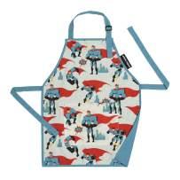 Urban Infant Little Helper Apron for Children | Kids, Cooking Baking Crafting Art Gardening, Boys and Girls, Machine Washable - Medium - Urban Dude