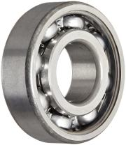 SKF 6319 Radial Bearing, Single Row, Deep Groove Design, ABEC 1 Precision, Open, Normal Clearance, Standard Cage, 95mm Bore, 200mm OD, 45mm Width