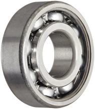 SKF 6205 Radial Bearing, Single Row, Deep Groove Design, ABEC 1 Precision, Open, Normal Clearance, Standard Cage, 25mm Bore, 52mm OD, 15mm Width