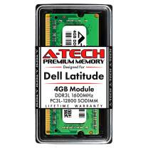 A-Tech 4GB RAM for Dell Latitude 3540, 3440, 3340 | DDR3/DDR3L 1600MHz SODIMM PC3L-12800 Laptop Memory Upgrade Module