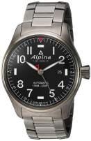 Alpina Startimer Pilot Automatic Movement Grey Dial Men's Watch