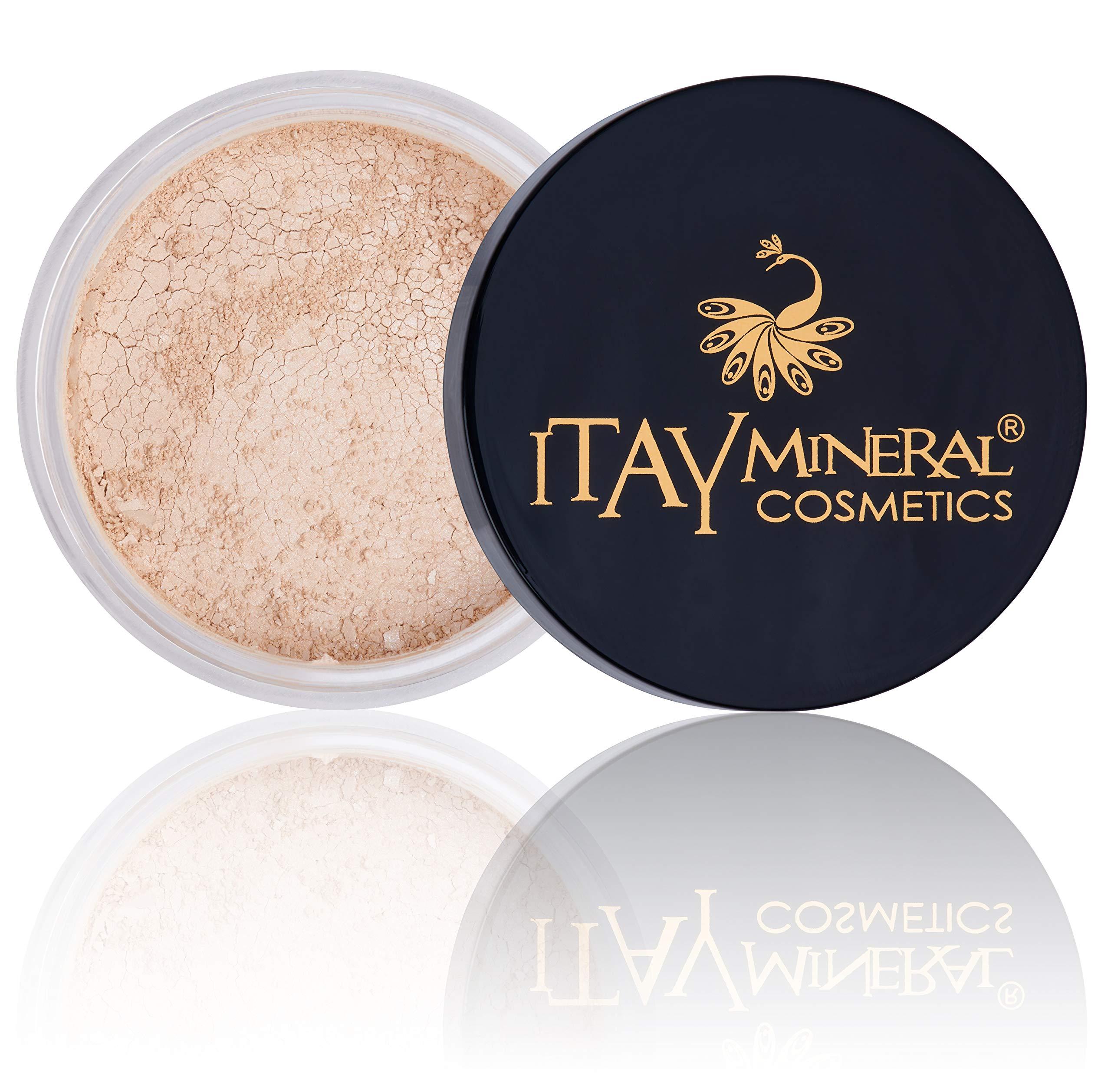 Itay Mineral Cosmetics Natural Loose Mica Powder Foundation (MF-12 PANNA COTTA)