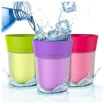 Flavored Water cup | Drink aromatic water and fewer beverages | For kids, women, men, weight loss | Kitchen gift idea | Reusable plastic | tumbler cold water | Sugar free, BPA free By The Right Cup