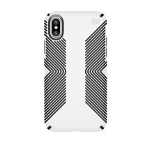 Speck Products Presidio Grip Case for iPhone XS/iPhone X, White/Black