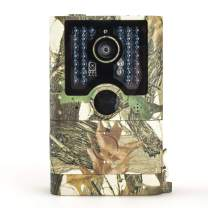 AILEMON Wildlife Trail Camera 12MP 1080P Upgraded Waterproof IP56 Hunting/Home Security/Farm Monitoring Scouting Camera, with Night Vision Motion Activated, 2'' LCD Screen