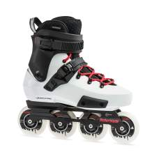 Rollerblade Twister Edge X Unisex Adult Fitness Inline Skate, Black and White,Premium Inline Skates