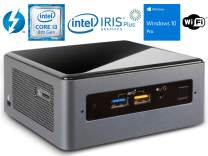 Intel NUC8i3BEH Mini PC/HTPC, Intel Core i3-8109U Up to 3.6GHz, 8GB RAM, 1TB NVMe SSD, WiFi, Bluetooth 5.0, Thunderbolt 3, 4K Support, Dual Monitor Capable, Windows 10 Pro