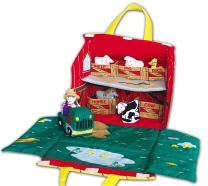 Pockets of Learning Old MacDonald's Farm, Soft Fabric Play Set for Toddlers and Children, Cloth Activity, Animal Pretend Play Toy