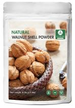 Naturevibe Botanicals 100% Pure & Natural Walnut Shell Powder For Scrub Formulation - 1/2 lb (8 Ounces) | Raw, Gluten-Free & Non-GMO | Omega-3 Fatty Acids | Glowing Skin | Healthier Scalp.