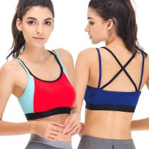 Curve Muse Womens Slim Fit Racerback Strappy Active Fitness Sports Bra 1 or 2PK