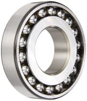 SKF 1311 EKTN9/C3 Double Row Self-Aligning Bearing, Tapered Bore, ABEC 1 Precision, Open, Plastic Cage, C3 Clearance, Metric, 55mm Bore, 120mm OD, 29mm Width