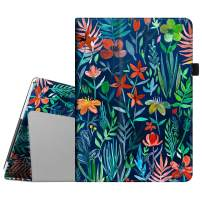 Fintie Case for Dragon Touch 10 inch K10 Tablet, Premium PU Leather Folio Cover Works with Dragon Touch Max10, Lectrus 10, Victbing 10, Hoozo 10, Wecool 10.1 Android Tablet (Jungle Night)