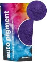 Hemway Premium Automotive Pearl Pigments Custom Automotive Paint, Plasti-Dip, Binders, Clear Coatings, Casting, Gel Coating, Resin, Powder Coating (Metallic Purple Violet, 3.6oz / 100g)