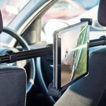 Olixar Universal Tablet Car Holder - Headrest Mount Pro - 360 Degree Rotation - Supports Tablets 190mm to 300mm in Width