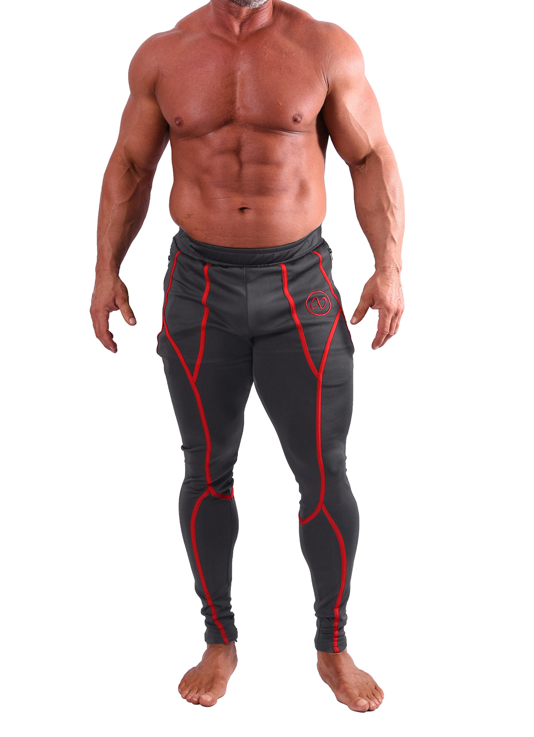 AB Butter Men's Training Bottoms Jogger Pants for Fitness Gym Workout Running