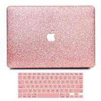 B BELK MacBook Pro 15 Inch Case 2019 2018 2017 2016 Release A1990 A1707, Bling Crystal Smooth Ultra-Slim PC Hard Case with Keyboard Cover Compatible Newest Mac Pro 15 with Touch Bar & Retina Display