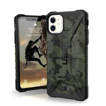 UAG Designed for iPhone 11 [6.1-inch Screen] Pathfinder SE Feather-Light Rugged [Forest Camo] Military Drop Tested iPhone Case